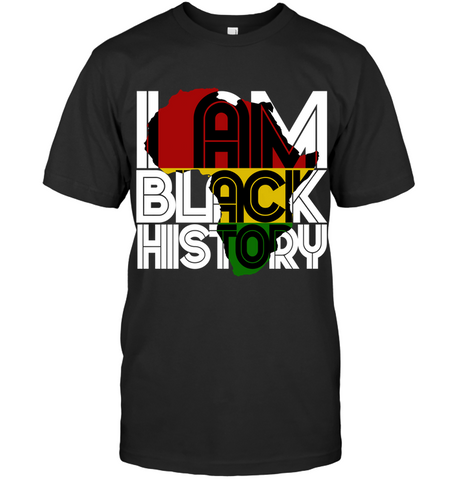 Africa T-shirt - I Am Black History