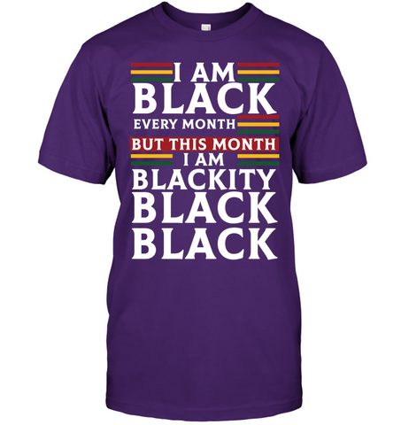 Africa T-shirt - I Am Black - J5