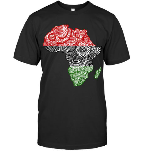 Image of Africa T-shirt - Africa Map V.2