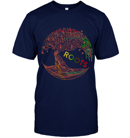 Image of Africa T-shirt - Tree Roots - J5
