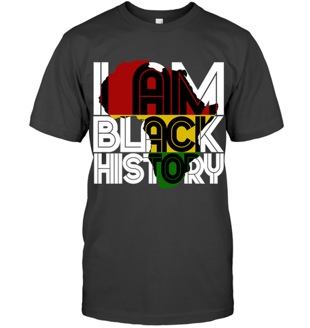 Africa T-shirt - I Am Black History - J5