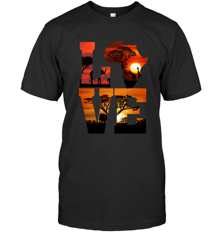 Image of Africa T-shirt - Love Africa