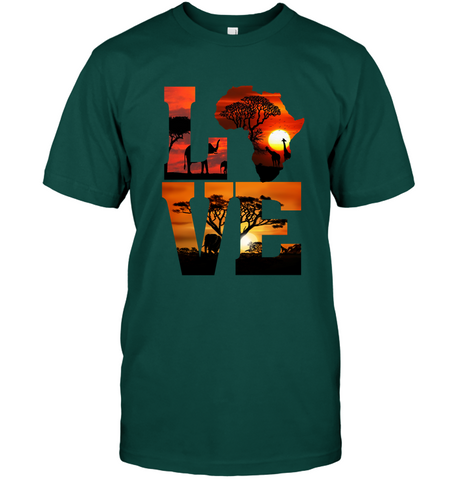 Image of Africa T-shirt - Love Africa - J5