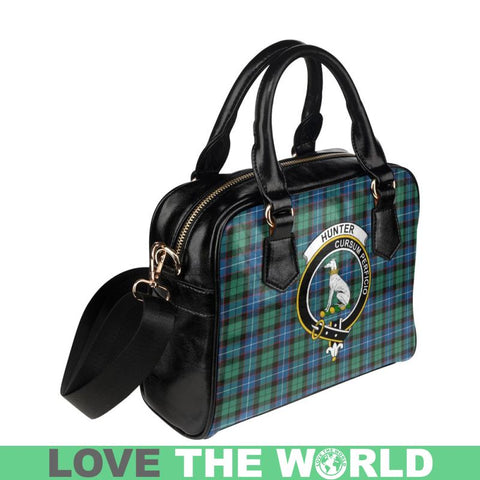 Image of Hunter Ancient Tartan Shoulder Handbag - Bn Pu Handbags