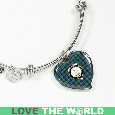 Hunter Ancient Tartan Silver Bangle - Sd1 Luxury Bangle (Silver) Jewelries