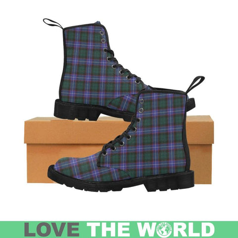 Hunter Modern Tartan Martin Boots | Scotland Boots | Over 500 Tartans