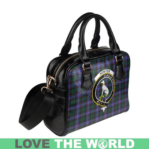 Hunter Modern Tartan Shoulder Handbag - Bn Pu Handbags