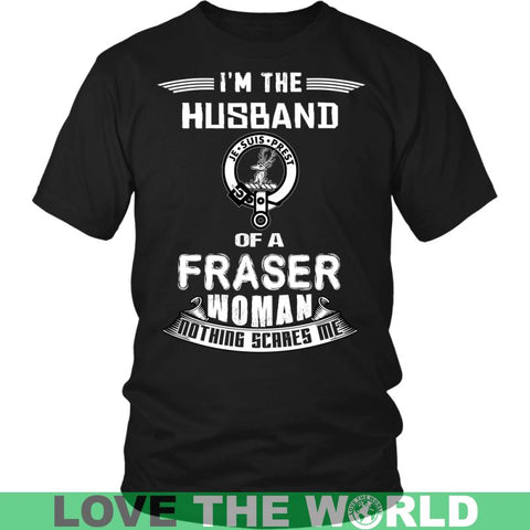 Husband Of A Fraser T- Shirt C12 District Long Sleeve Shirt / Navy S T-Shirts