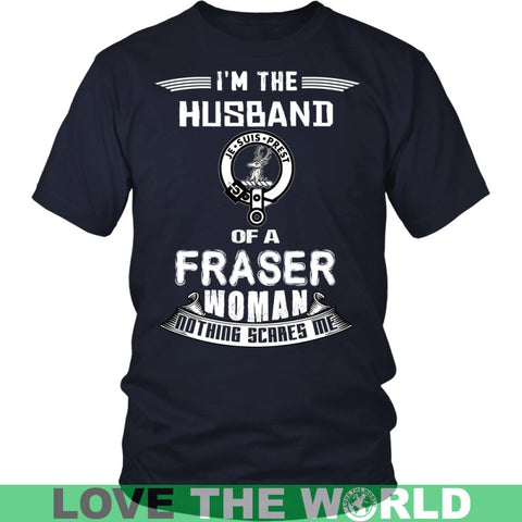 Image of Husband Of A Fraser T- Shirt C12 District Long Sleeve Shirt / Navy S T-Shirts