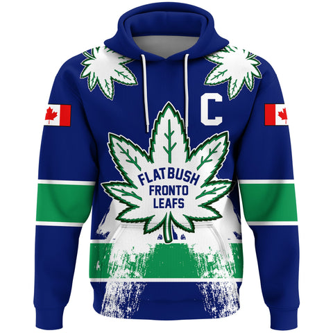 1stCanada Hoodie Flatbush Zombies Fronto Maple Leafs A7