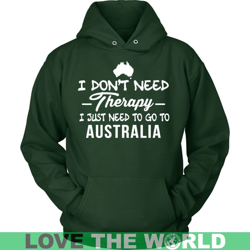 I Just Need To Go Australia A9 District Unisex Shirt / Red S T-Shirts