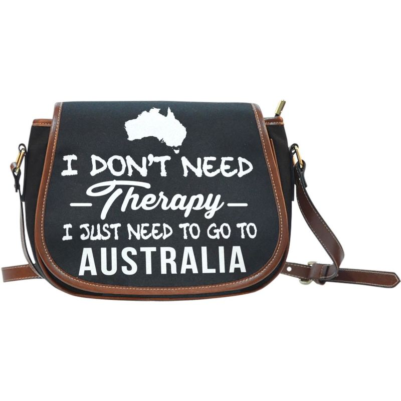 I Just Need To Go Australia Saddle Bag A9 Bags