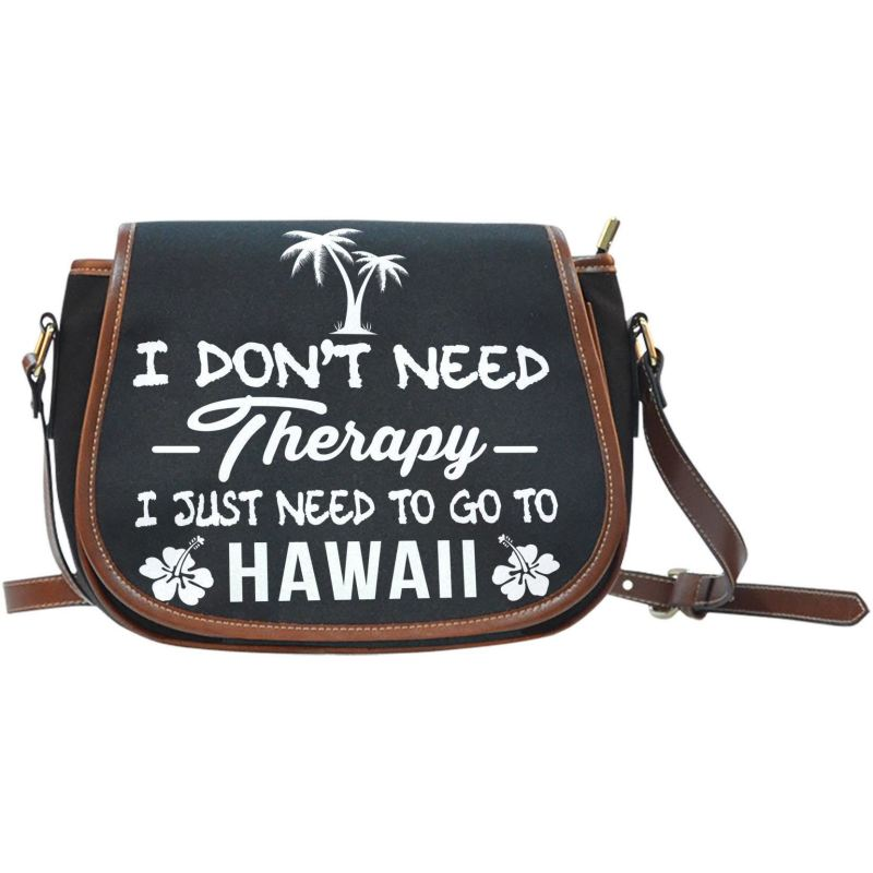 I Just Need To Go Hawaii Saddle Bag A9 Bags