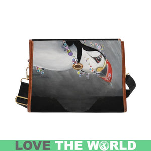 ICELAND PUFFIN ULIANKA WATERPROOF CANVAS BAG HA8