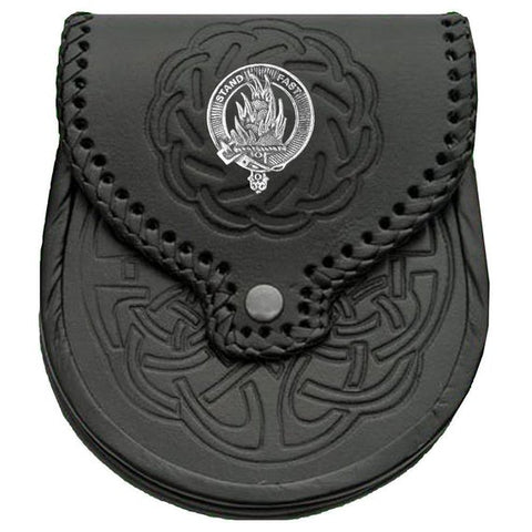 Image of Grant Badge Leather Sporran TH8