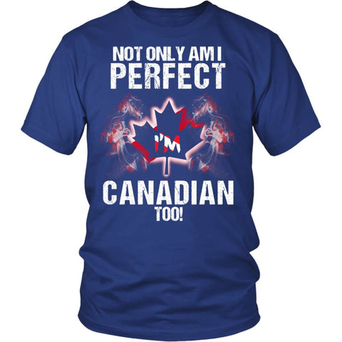 Im Canadian Too Nh District Unisex Shirt / Royal Blue S T-Shirts
