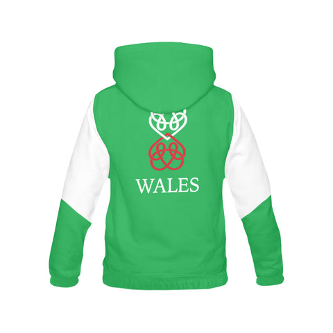 Wales Flag And Dragon Hoodie H7