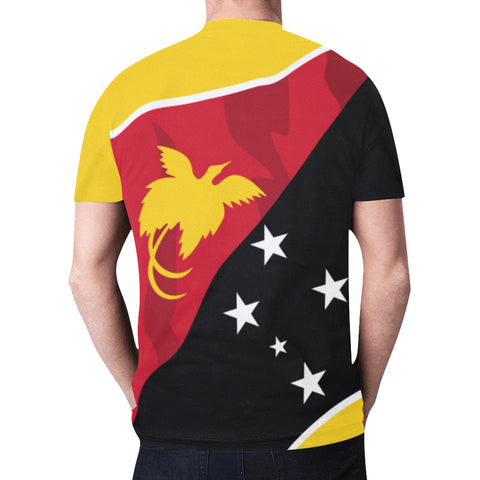 Papua New Guinea T-shirt Flag Fly In Me