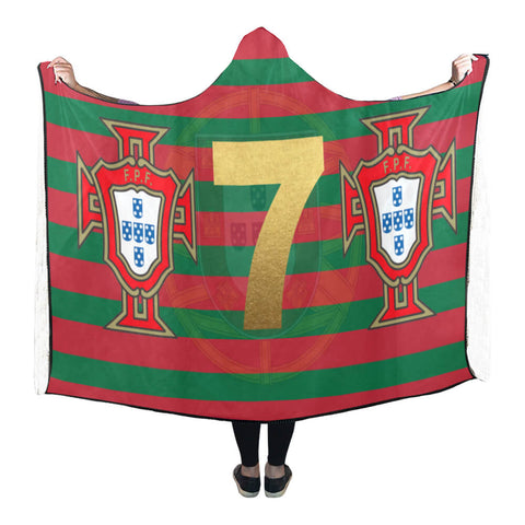 Portugal Forca 7 World Cup Hooded Blanket - Bn04 | Love The World