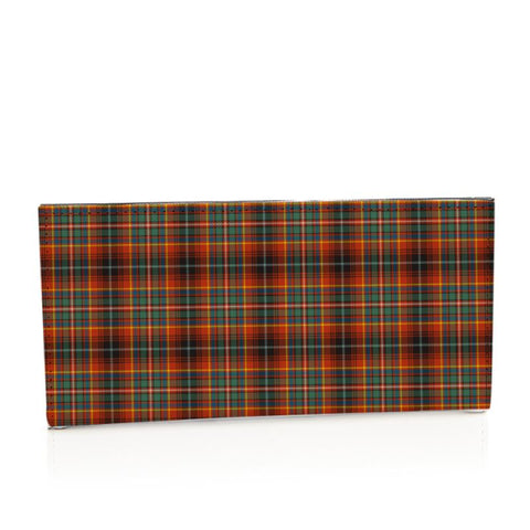 Innes Ancient Tartan Long Leather Wallet S1 Style-1 Bifold Wallets