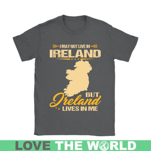 Ireland Lives In Me Gildan Women T-Shirt 28