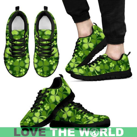 Shamrock Beautiful Garden Men's Sneakers