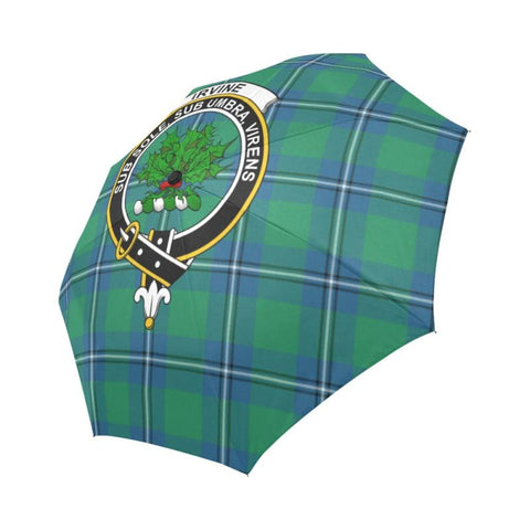 Irvine Ancient Tartan Clan Badge Auto-Foldable Umbrella R1 Auto Foldable Umbrellas