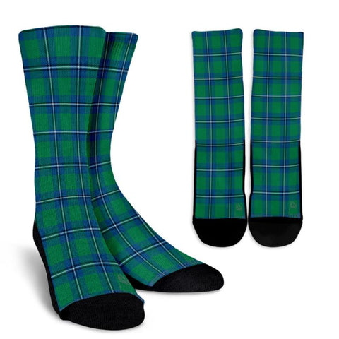 Irvine Ancient Tartan Socks, scotland socks, scottish socks, Xmas, Christmas, Gift Christmas, noel, christmas gift, tartan socks, clan socks, crew socks, warm socks