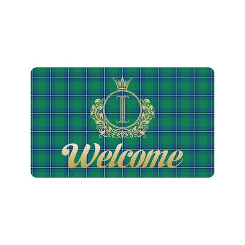Irvine Ancient Tartan Doormat HJ4 |Home Set| Love The World