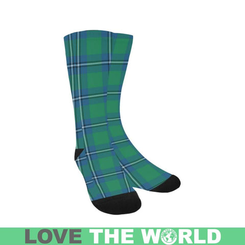 Irvine Ancient Tartan Trouser Socks Hj4