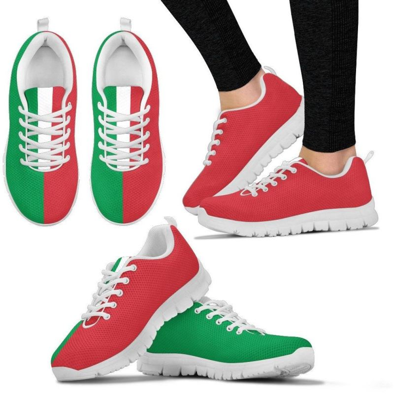 Italy Sneakers 02 Womens Sneakers - White 01 / Us5 (Eu35)