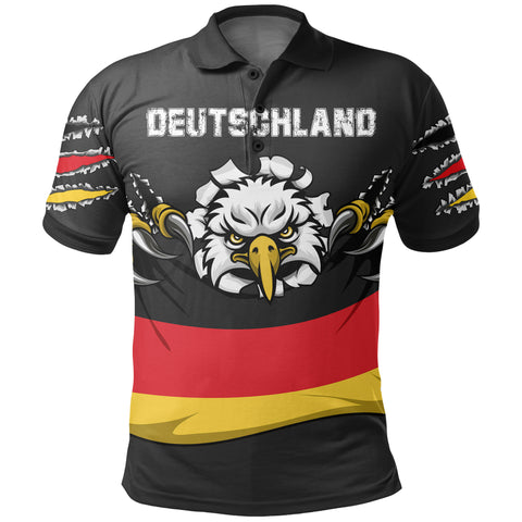 (Deutschland) Germany Polo Shirt National Eagle A7