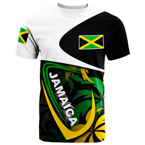 Image of Jamaica T-Shirt - Jamaica Palm Tree Style - BN20