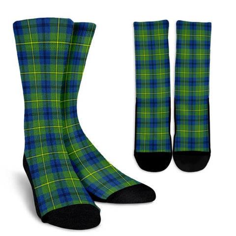 Johnston Ancient Tartan Socks, scotland socks, scottish socks, Xmas, Christmas, Gift Christmas, noel, christmas gift, tartan socks, clan socks, crew socks, warm socks