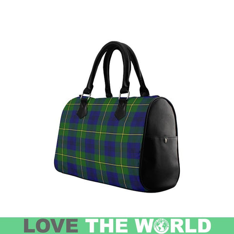 Johnston Modern Tartan Boston Handbag Hj4 Handbags