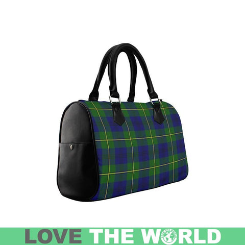 Image of Johnston Modern Tartan Boston Handbag Hj4 Handbags