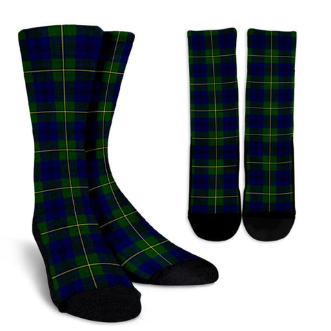 Johnston Modern Tartan Socks, scotland socks, scottish socks, Xmas, Christmas, Gift Christmas, noel, christmas gift, tartan socks, clan socks, crew socks, warm socks