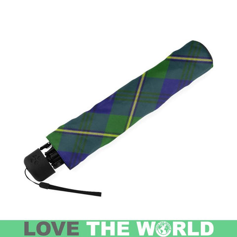 Image of Johnston Modern Tartan Foldable Umbrella Th8 |Accessories| 1sttheworld
