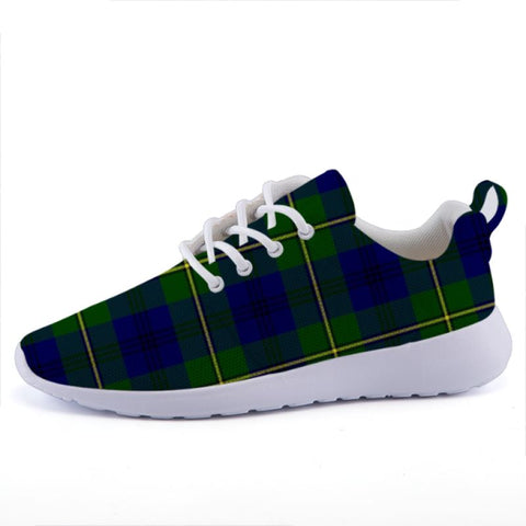 Johnston Modern Tartan Lightweight Casual Sneakers C3 35