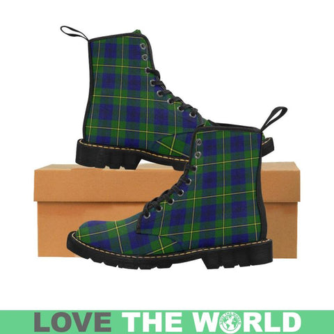 Image of Johnston Modern Tartan Martin Boots | Scotland Boots | Over 500 Tartans