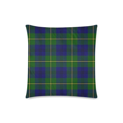 Johnston Modern Tartan Pillow Cases Hj4 One Size / Johnston Modern Back Custom Zippered Pillow Case