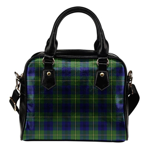 Johnston Modern Tartan Shoulder Handbag - Bn Handbags
