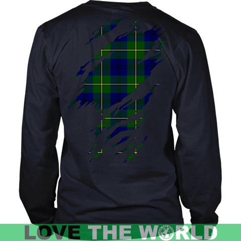 Image of Johnstone Tartan Shirt And Tartan Hoodie In Me
