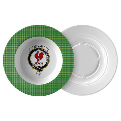 Currie (Or Curry) Tartan Clan Bowl  - Love The World