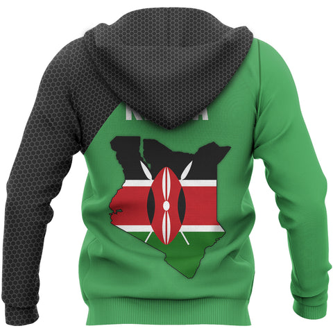 Image of Kenya Map Special Hoodie | Special Design | Hot Sale