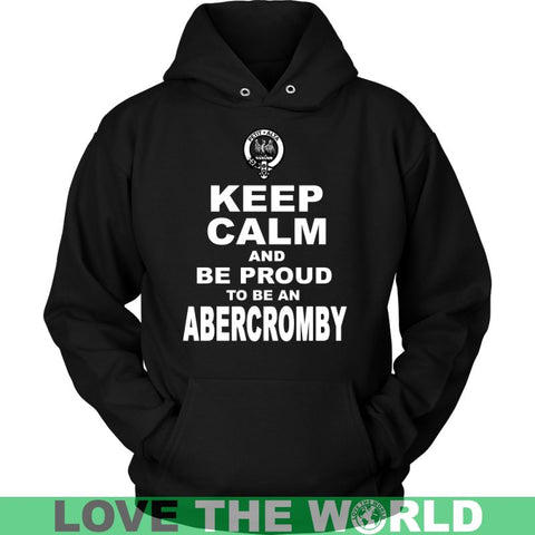 Image of Keep Calm And Be Proud Abercromby N7 Gildan Womens T-Shirt / Black S T-Shirts