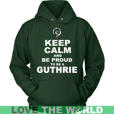 Image of Keep Calm And Be Proud Guthrie N7 Gildan Womens T-Shirt / Black S T-Shirts