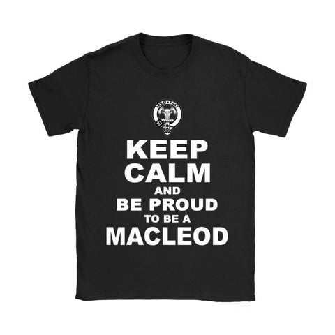 Image of Keep Calm And Be Proud Macleod N7 District Unisex Shirt / Black S T-Shirts