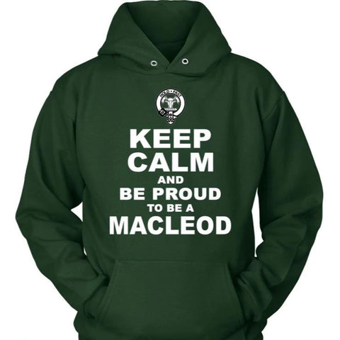 Keep Calm And Be Proud Macleod N7 District Unisex Shirt / Black S T-Shirts