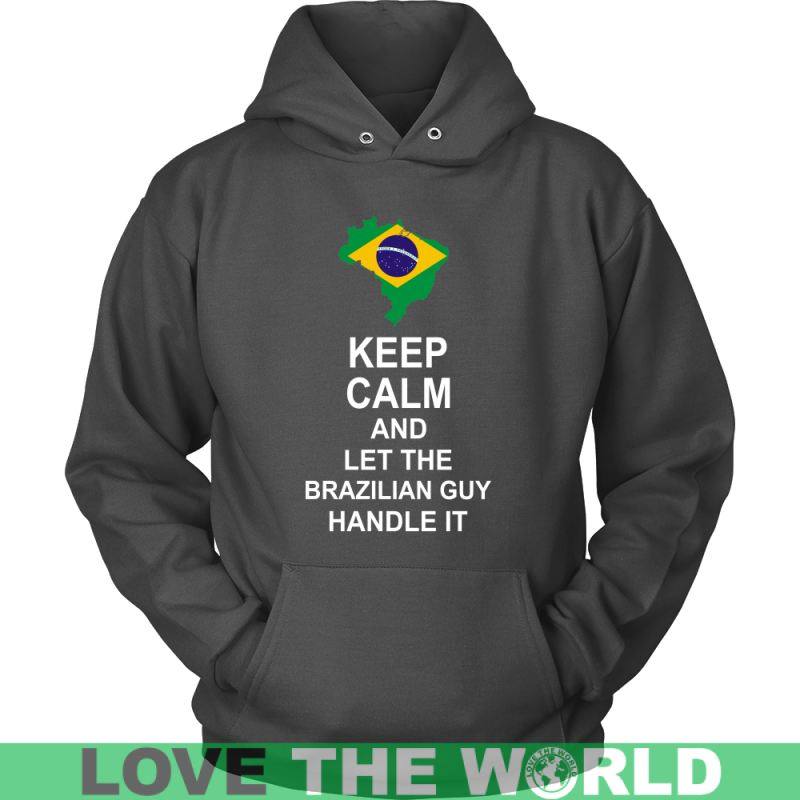 Keep Calm And Brazilian Guy 3 District Unisex Shirt / Royal Blue S T-Shirts